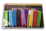 Felt Multi-Coloured Ribbon Pennant Banner - 72