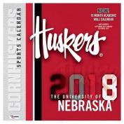 Nebraska Cornhuskers 2018 12x12 Team Wall Calendar