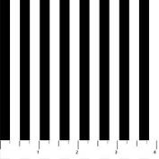 Colorworks Concepts Black & White Stripe Northcott Cotton Fabric 21596-99