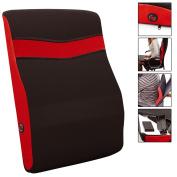 Sentik Battery Operated Massaging Back Seat Massager Massage Cushion Car Home
