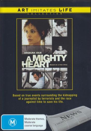 A Mighty Heart (Art Imitates Life) [Region 4] - DVD - Free Shipping. Good Condit