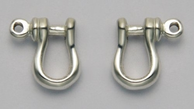 shackle earrings stainless steel shackle stud earrings by wildthings ltd 4852